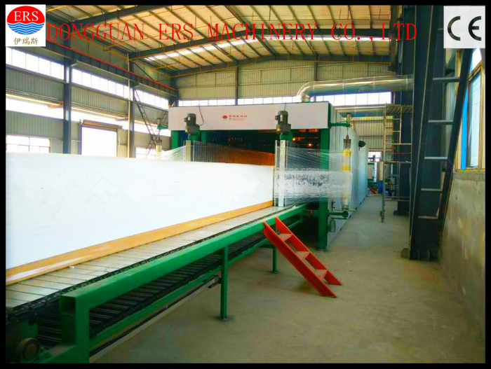 ERS-HCF Horizontal continuous foam sp